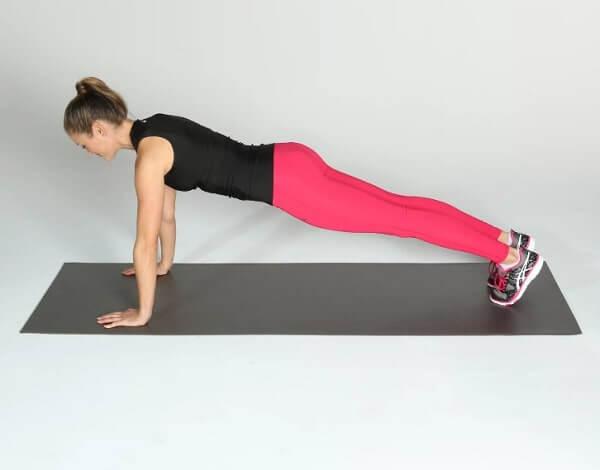 exercice de gainage pour perdre du ventre