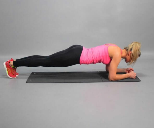 exercice de planche pour debutant