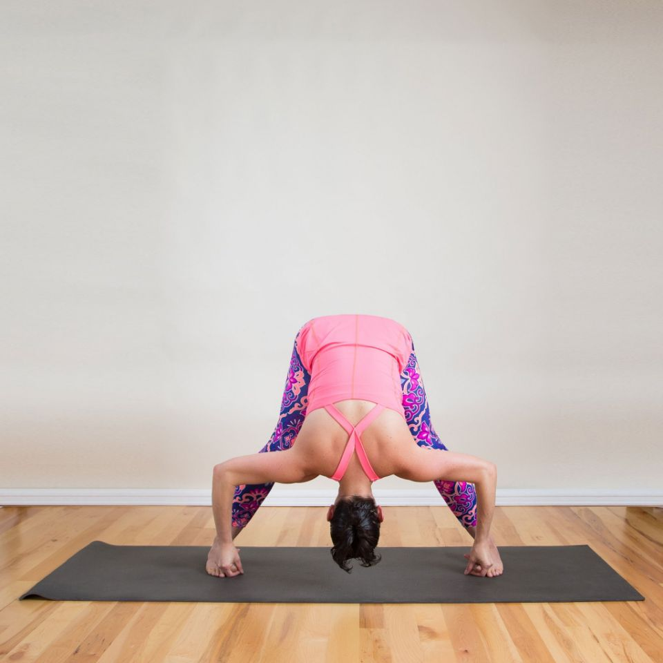 posture yoga Courbe avant